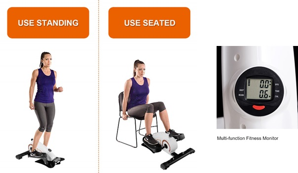 Gymax Goplus Portable Elliptical