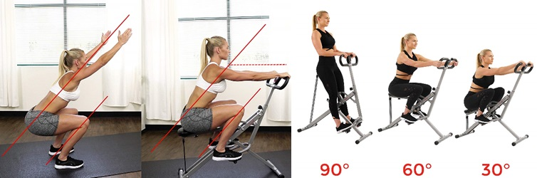 best home squat rower machine