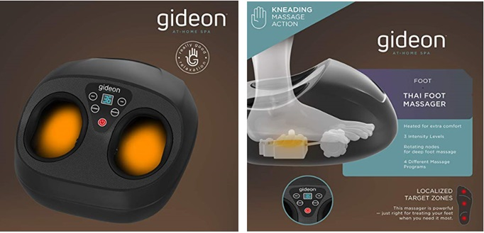 Gideon Thai Foot Massager with Heat