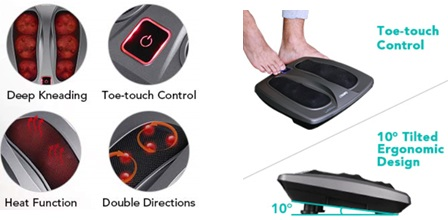NAIPO Shiatsu Foot Massager